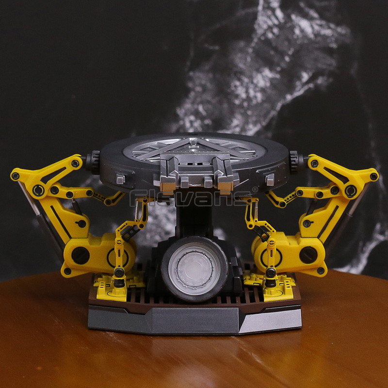 Iron Man Arc Reactor with LED Light 1/12 Scale Figure Base &amp; Detachable Gantry Arms<br>