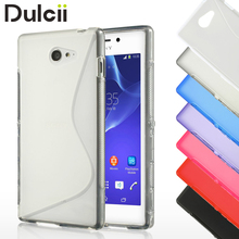 Buy Fundas Sony Xperia M2 D2303 D2305 D2306 Case Black S Shape Gel TPU Phone Cover Sony Xperia M2 Dual D2302 M2 Aqua Shell for $1.79 in AliExpress store
