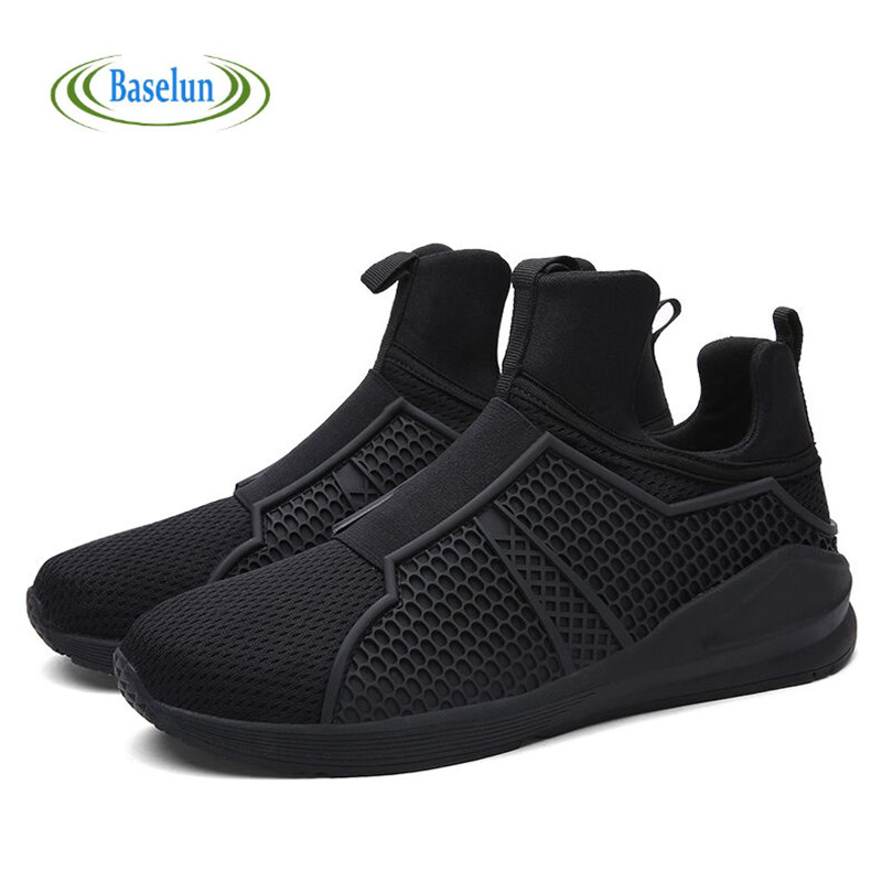 2016 Fashion Mens Trainers Men Breathable Mesh Casual Shoes Outdoor Sport Flats Walking Shoes Zapatillas Hombre<br><br>Aliexpress