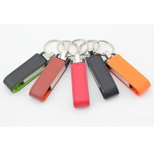 Usb 2.0 Flash Drive 512GB Leather Business Gift Pen Drive Memory Stick Full Capacity Usb Creativo Flash Card 16GB 32GB 64G 128GB(China)