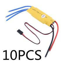 RC Helicopter 40A ESC Brushless Motor Speed Controller 10PCS(China)