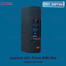 1pc/lot silicone cover for Joyetech eVic Primo MINI 80W e-cigarette protective case film popular 13 colors RHS factory wholesale