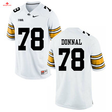 Nike 2017 Iowa Andrew Donnal 78 Can Customized Any Name Any Logo Ice Hockey Jersey(China)