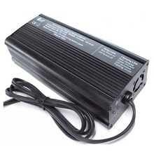 200W 14.4V 12A intelligent LiFePO4 battery charger for 12V 12.8V 4S lithium iron phosphate battery pack(China)