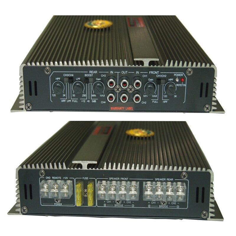 4Channel 3800W amplifiers