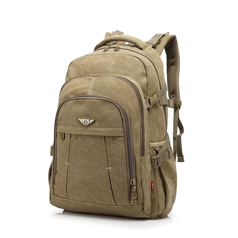 Men Backpack Fashion Canvas Vintage Backpack Leisure Shoulder Travel Male School Bags Laptop Computers Unisex Rucksacks Bagpack<br>