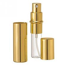 12ml Travel Portable Gold Mini Refillable Perfume Bottle For Spray Scent Pump Case Empty Perfume Atomizer Bottle Airless Pump(China)