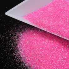 3D Nail Glitter Powder Romantic Sweet Pink Nail Art Glitter Dust Embellishment Summer Style Manicure Decoration WY319