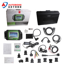 TOP diagnostic auto original SPX Autoboss Elite Super Scanner spx Autoboss V30 Elite on official website update free shipping(China)