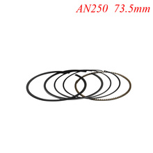 Motorcycle Piston Rings Set For Suzuki AN250 AN 250 +50 Burgman Skywave 250 Oversize Bore Size 73.5mm NEW