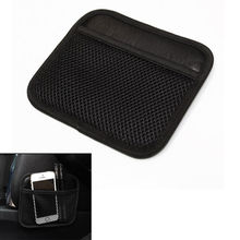 BBQ@FUKA Phone Storage Bag Interior Car Holder Net Pouch Pen Ticket Tidy Fit For AUDI VW Ford Toyota Benz Honda Buick