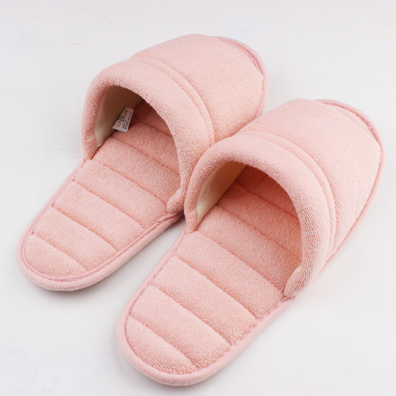 2016 Spring Towels Cotton Indoor Slippers For Women Home Slippers Line Pressing Soft Bottom Summer Slippers Fashion House Shoes<br><br>Aliexpress