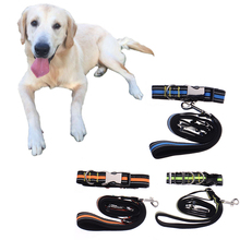 Nylon Reflective Dog Leash Leads Traction Rope Leashes For Pets Running Dog Leash Working Hiking
