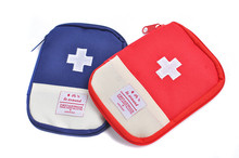 1pc Portable Outdoor Camping Home First Aid Box Emergency Medical Kit Survival bag Hunt Travel Bag Medicine Bag Sorting Bags(China)
