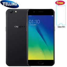 "Original Oppo A57 Mobile Phone 4G LTE Android 6.0 Snapdragon MSM8940 Octa Core 3G+32G 5.2"" FHD 16M Selfie Camera Fingerprint ID"