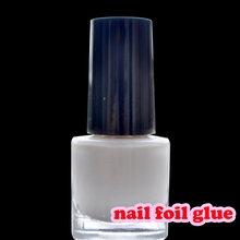 1/3 Bottle White Star Glue Nail Art Tool Nail Foil Glue Nail Art Glue For Transfer Paper Glue for Nail Foils Dry Clear