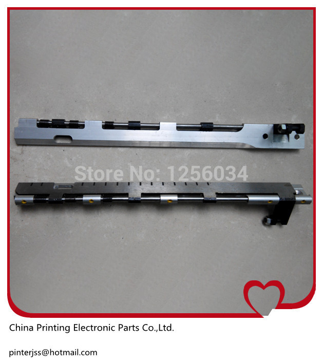 good quality T-Platen Gripper Bar for windmill machine Length=353mm 10*15<br>