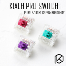 kailh pro switch RGB SMD purple light green teal aqua burgundy MX RGB Swithes For Backlit Mechanical Gaming keyboard(China)