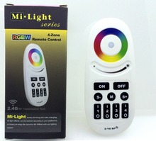 Mi Light Remote Controller 2.4G RF 4-zone RGBW Touch Screen Change Color for Led Strip Blub