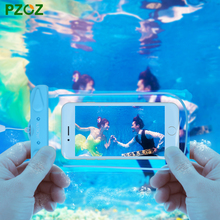PZOZ Waterproof Underwater Mobile Phone Case Bag Pouch For iPhone 6 s Plus 5C 5SE 4 For Samsung S7 S6 S5 Xiaomi Redmi Note 3 mi5