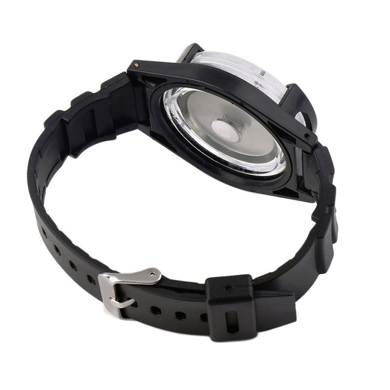 Tactical Wrist Compass Outdoor Camping Tool Survival Adventure Hiking Tourism Equipment Fishing Hunting Accessories Black Band (9)