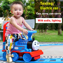 Infant 1-3 Years Scooter Learn To Walk With Foot Pedal Children Balance Bike Kid Riding Toys Thomas Train Toys Baby Walker(China)
