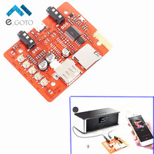 5V Wireless Bluetooth Audio Receiver Board Module 3-20m For Automotive Audio With Stereo Amplifier Headphone AUX/Micro USB