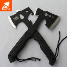 Outdoor camping axe alloy steel bear hunting  axe hand survival viking stainless steel ax