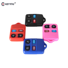 KEYYOU 4 Buttons 4 Colors Remote Key Shell Case Fob For Ford Mustang Focus Lincoln LS Town Car Mercury Grand Marquis Sable(China)