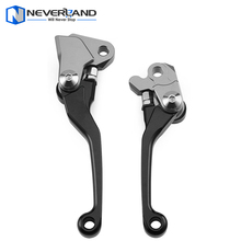 Black CNC Pivot Brake Clutch Levers for Yamaha YZ 125 250 250F 426F 450F for Kawasaki KX 125 250 250F 450F for Suzuki RMZ250