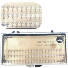 8/10/12mm New False Eyelashes 0.07 C Curl 6D Individual Mink Eyelash Extension Soft Black Fake False Eye Lashes