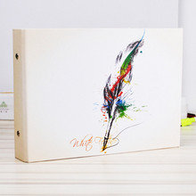 New Quality handmade diy photo album 10 pages paper photo albums scrapbook for baby familiy wedding memory album(China)