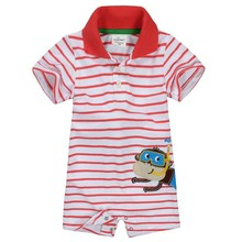 High Quality 100% Cotton Summer Newborn Polo Baby Boy Baby Clothing Clothes Ropa Bebe Creepers Jumpsuits Baby Boy Rompers Brand