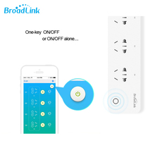 Broadlink smart power socket  plug MP1 Wireless wifi 4 outlet independent control timer IOS Android remote control controller