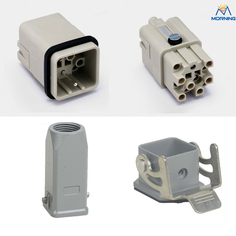 HQ-012 12+PE 400v 10A  heavy duty connectors of high quality<br>