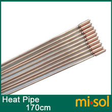 10pcs/lot of copper heat pipe (170cm), for solar water heater, solar hot water heating(China)
