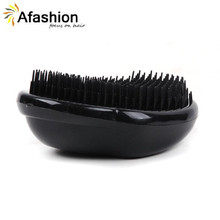 1pc Tangle Hair Brush for Keratin Extension Human Wig Styling Detangling Comb Tools Free Shipping