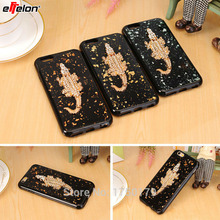 eFFelon Luxury Bling Crystal Rhinestone Diamond Crocodile Case For APPLE iPhone 6 s 6s plus Soft Silicone Shell Bag Coque Cover