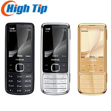 hot sell Nokia Unlocked Original 6700C 6700 Classic Gold mobile Phones 5MP free leather case Russian Keyboard Free Dropshipping(China)