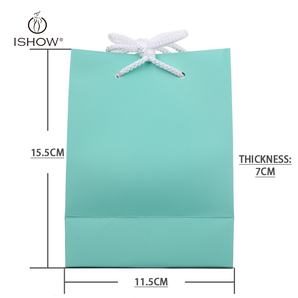 New Fashion Packing Bag Jewelry Accessories Mint Green Pink Coffee Packing Box Jewelry Packaging friend gift Bolsas de regalo(China (Mainland))