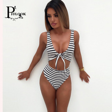 brazilian 2017 Bathing suit women maillot de bain Two-Piece Sexy Swimwear Set Striped Gold Patchwork Hand knitting Design Bikini