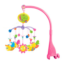 Baby Love IFSO 601-4 Musical Mobile Baby Bed Bell. Baby Rattles with 40 Dulcet Songs, 360 Degrees Rotate for 0-12 Month