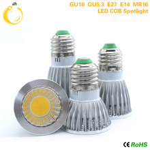 1pcs Super Bright 15W 12W 9W LED Bulb Spot Light Lamp AC110V 220V Dimmable E27 E14 GU10 MR16 Recessed Lighting Warm Cold White