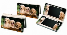 Dogs 024 Vinyl Skin Sticker Protector for Nintendo DSI XL LL for NDSI XL LL skins Stickers