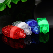 Hot 12pcs Party LED Finger Light,Laser Finger,Beams Ring Torch For wedding celebration mix color New(China)