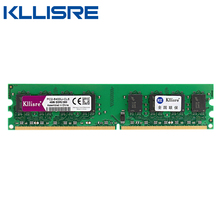 Kllisre DDR2 4GB Ram 800MHz PC2-6400 Desktop PC DIMM Memory 240 pins For AMD System High Compatible(China)