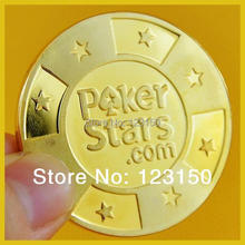 Buy JZ-205 Special back design professional Poker Stars.com Golden Card Protector for $6.99 in AliExpress store