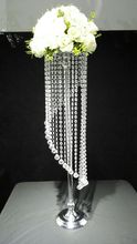 10Pcs/lot  90cm Tall wedding aisle crystal pillars Wedding Chandelier Centerpiece for Party Christmas wedding road lead