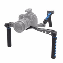 Buy Proffesional Camera Stabilizer DSLR Filmmaking System Shoulder Mount Stabilizer Canon Nikon Sony DSLR Cameras for $41.52 in AliExpress store