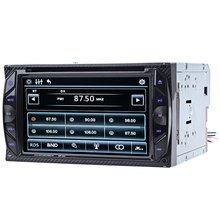 Car Audio Digital Touch Screen 6.2 inch Bluetooth Hands Free Calls Auto Radio Double Din 32G Car DVD Player In-dash Stereo Video